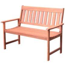 Kerti pad fából, 2 személyes - Bútorok Webshop
