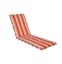 Kerti bútor párna napozóágyhoz, narancs - Bútorok Webshop