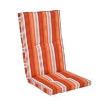 Kerti bútor párna, magas támlás székhez, narancs - Bútorok Webshop