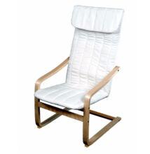Relax fotel, fehér