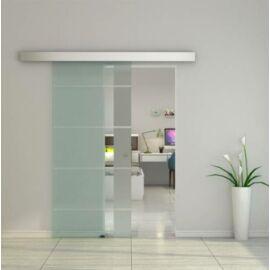 Üveg tolóajtó, savmart, széles, G42 - Bútorok Webshop