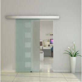 Üveg tolóajtó, savmart, széles, G43 - Bútorok Webshop