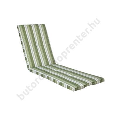 Kerti bútor párna napozóágyhoz, zöld - Bútorok Webshop