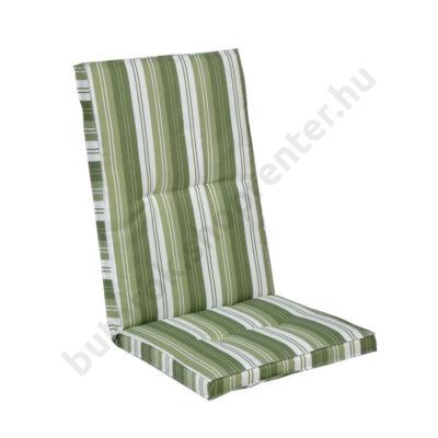 Kerti bútor párna, magas támlás székhez, zöld - Bútorok Webshop