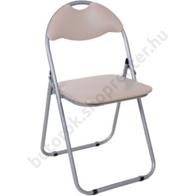 Cordoba összecsukható szék, bézs - Bútorok Webshop