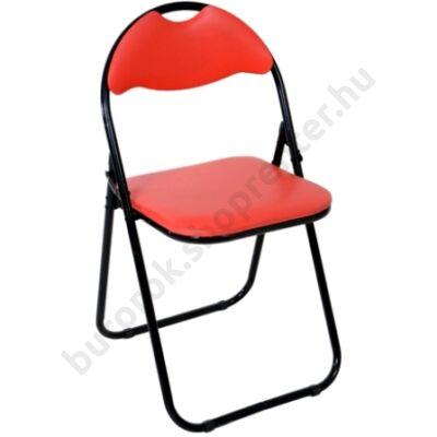 Cordoba összecsukható szék, piros - Bútorok Webshop