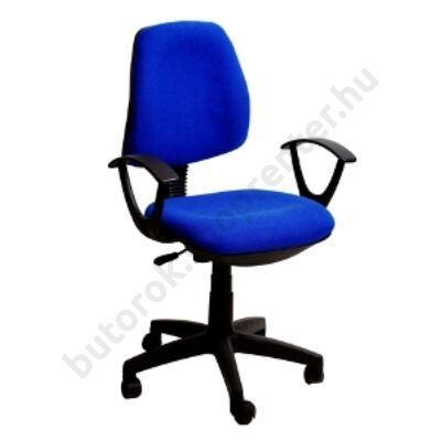 Irodai forgószék, US 03, kék, szövet - Bútorok Webshop