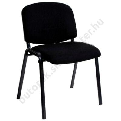 Tárgyalószék, fekete - Bútorok Webshop