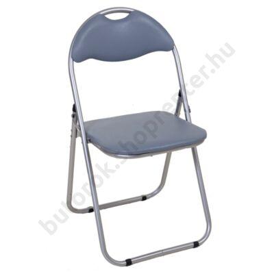 Cordoba összecsukható szék, szürke - Bútorok Webshop