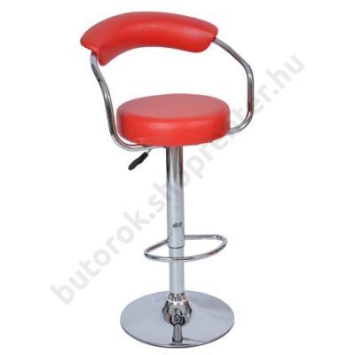 Sandra bárszék, piros - Bútorok Webshop