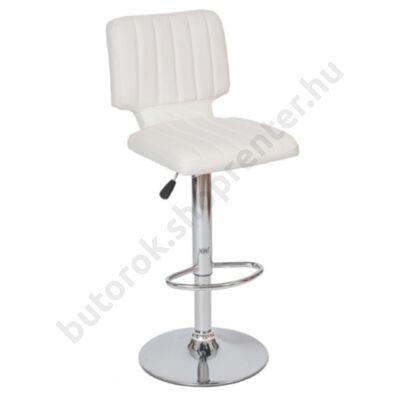 Merkur bárszék, fehér - Bútorok Webshop