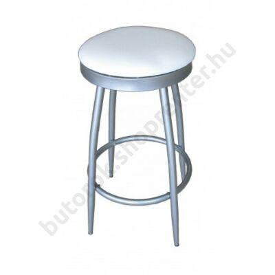 Rondo bárszék, fehér - Bútorok Webshop