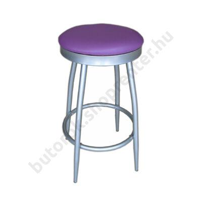 Rondo bárszék, lila - Bútorok Webshop