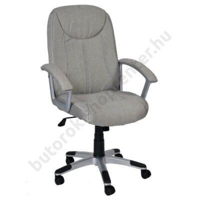 Easy irodai forgószék, ezüst - Bútorok Webshop