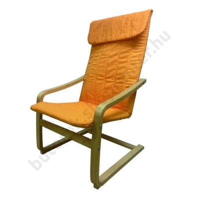 Relax fotel, narancs