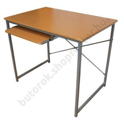 Olga számítógépasztal, bükk - Bútorok Webshop