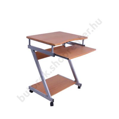 Furinno számítógépasztal, bükk - Bútorok Webshop