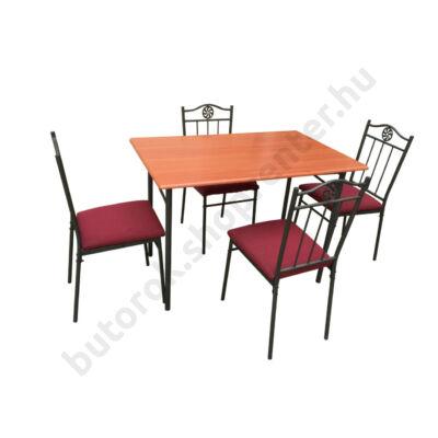 Victory 5 étkezőgarnitúra, cseresznye - Étkezőgarnitúrák