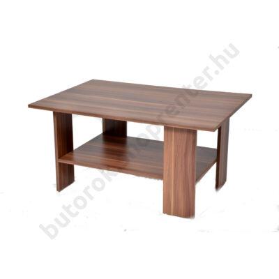 Turo dohányzóasztal, dió - Bútorok Webshop