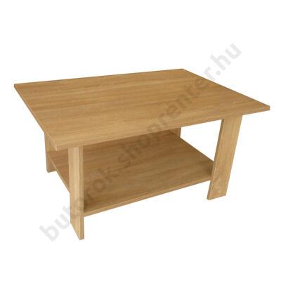 Turo dohányzóasztal, fehér tölgy - Bútorok Webshop