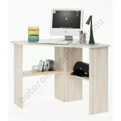 Angus sarok számítógépasztal, akác - Bútorok Webshop