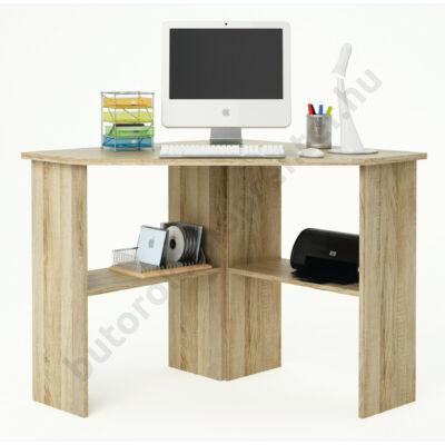 Angus sarok számítógépasztal, tölgy - Bútorok Webshop