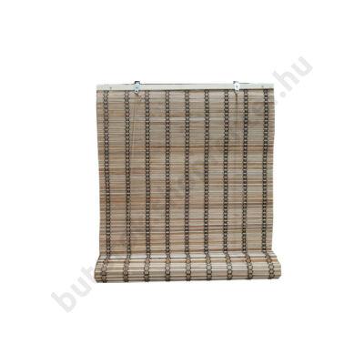 Bambusz árnyékoló, barna, 80x160 cm - Bútorok Webshop