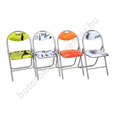 Cordoba mintás összecsukható szék - Bútorok Webshop