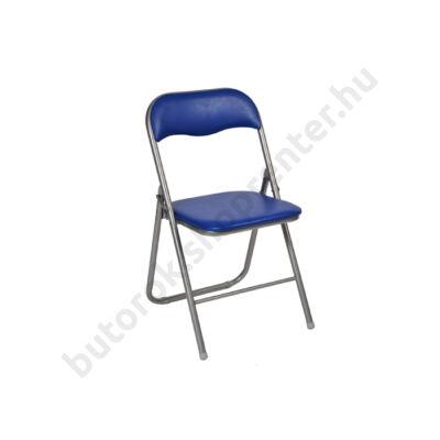 Lorca összecsukható szék, kék - Bútorok Webshop
