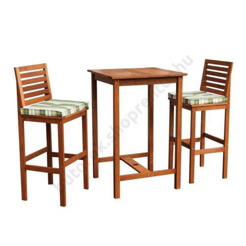 Kerti bár garnitúra trópusi fából - Bútorok Webshop
