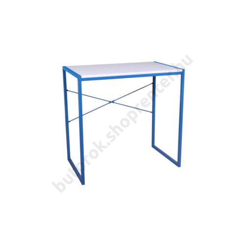 Ifjúsági számítógépasztal, fehér-kék - Bútorok Webshop