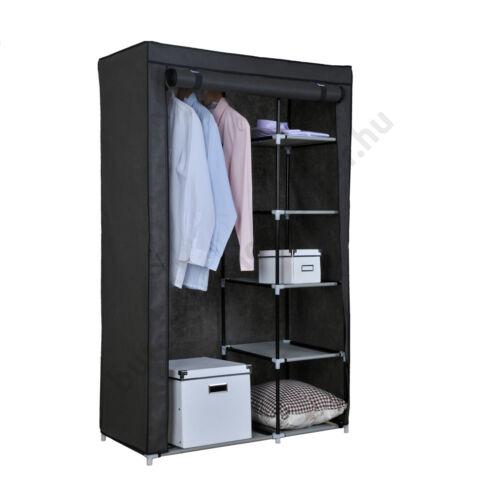 Vászon tároló szekrény, 2 cipzáras - Bútorok Webshop