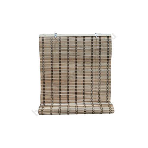 Bambusz árnyékoló, barna, 120x160 cm - Bútorok Webshop